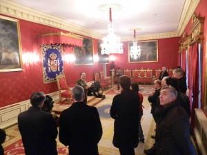Visita Capitanía Salón del Trono