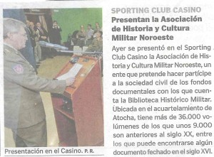 Recorte Prensa La Voz de Galicia