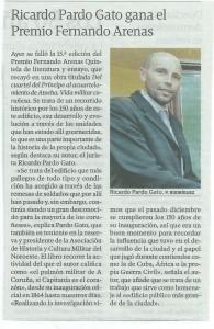 La Voz de Galicia 22 de Abril de 2015
