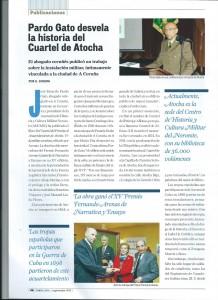 Revista Fonte Limpa nº 28 Septiembre 2015 (Revista del Colegio de Abogados de A Coruña). Ricardo Pardo gato desvela la Historia del Cuartel de Atocha (Pag.1)