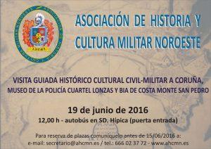 Visita Guiada Museo de la Policia Nacional y Bateria de Costa Monte de San Pedro